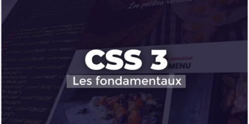 Apprendre CSS 3