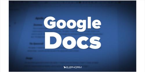 Apprendre Google Documents