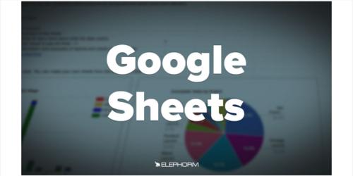 Apprendre Google Sheets