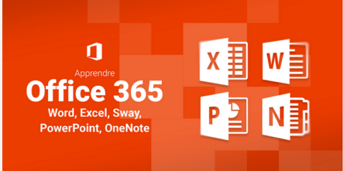 Apprendre Office 365 : Word, Excel, PowerPoint, OneNote, Sway